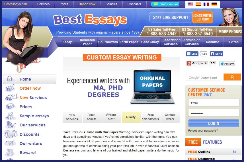 BestEssays.com review