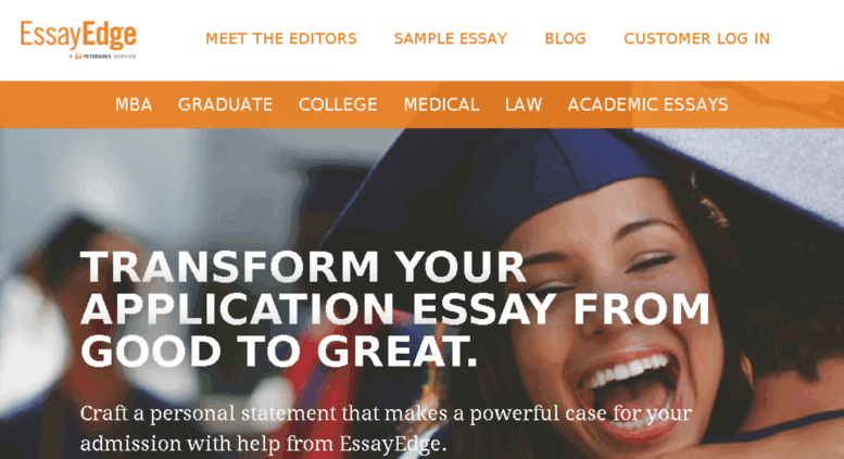 essayedge com Home career career advice jobs tips writing the successful college application essayedgecom writing the successful college application essay.